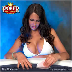 tina wallman poker