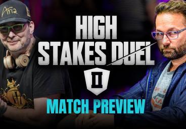 High-Stakes : le duel entre Daniel Negreanu et Phil Hellmuth retardé de deux semaines
