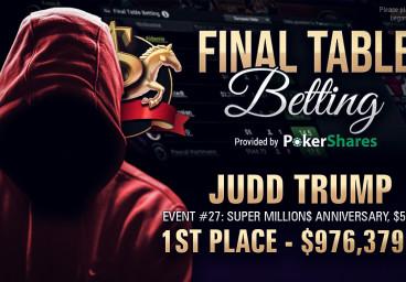 Poker en ligne : Trump empoche 976 379 $ lors du Super MILLION$ Anniversaire