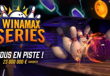 Winamax Series : dotation garantie de 23 millions d'euros jusqu'au 16 septembre